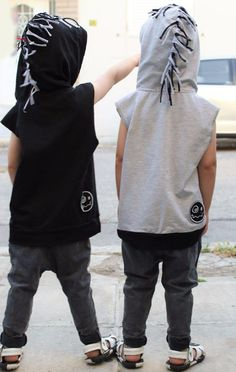 cool mohawk boys hoodie cute fun www.shopbeecharmer.com
