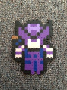 joey again! it's hawkeye! really want to make this! but i have no purple colored beads :(