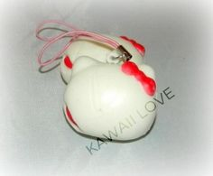 Bitten Marshmallow Squishy Kawaii, All Things Cute, Indie Brands, Keychains, Marshmallow, Christmas Bulbs, Charms, Holiday Decor, Awesome