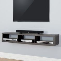 Low Profile TV Stands on Hayneedle - Low Profile TV Consoles - Page 4