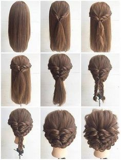 Fashionable Braid Hairstyle for Shoulder Length Hair. #diy, #hairstyle, #braid