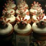 Thanksgiving cupcakes Vanilla Cupcakes