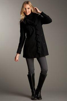 Tahari coat- my coat, I still LOVE it.