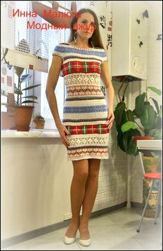 Ручная работа платье Этно