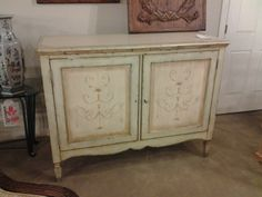 Rustic server made by Century Furniture
