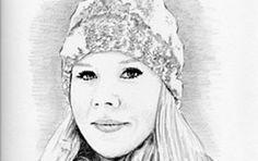 Portrait Bleistiftzeichnung
