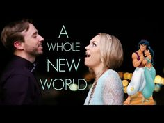 A Whole New World - Evynne Hollens feat. Peter Hollens - YouTube