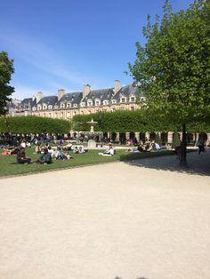 Place des Vosges Paris, France