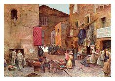 Roma inizio del mercato.