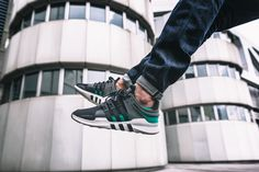 Adidas EQT Support ADV - Core Black/Sub Green - 2016