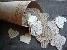 vintage Wuthering Heights Confetti on Etsy $2.00