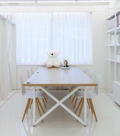 Interesante diseño para las mesas bench