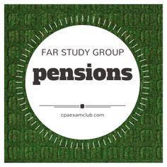 Pension: FAR Study Group  #cpaexam #FARstudygroup