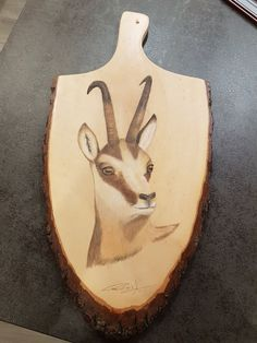 """""""la pose"""" Portrait of chamois in pastel pencils on wooden board by Rud '… – Crayons Crayons Pastel, Pastel Pencils, Crayon Costume, Pose Portrait, Crayon Painting, Crayon Heart, Crayon Shin Chan, Poses, Prismacolor"""