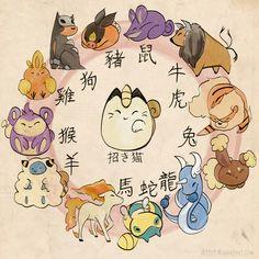 Je suis Ponyta =D (Signe astrologique chinois cheval)
