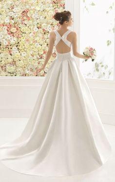 Wedding dress idea; Featured Dress: Aire Barcelona
