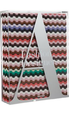 the Missoni edition of the Fashion Designers A-Z book would make a lovely addition to the coffee table