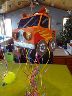 ID Mommy: DIY Monster Truck Birthday Party! Really love this mama's blog post about her son's birthday party, especially since she DIY'd a lot of it rather than just buying everything from etsy or ebay.