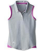 adidas Golf Kids  Essentials 3 Stripes S/L Polo (Big Kids)