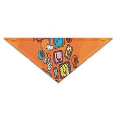 ALIIXUN2 Sponge Bob Pets Dogs Cats Puppy Bandana Bibs Triangle Head Scarfs Accessories ** Don't get left behind, see this great dog product : Dog Bandanas