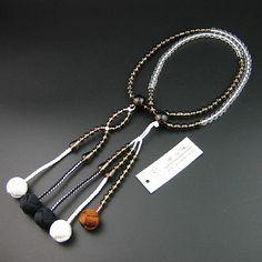 Soka gakkai sgi juzu #japanese buddhist nichiren #smoke #clear quartz bead rosary,  View more on the LINK: http://www.zeppy.io/product/gb/2/182110962514/