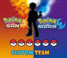 cool Pokemon Strategy Guide: Custom Team Shiny 6IV + Items - Pokemon Sun/Moon   Check more at http://harmonisproduction.com/pokemon-strategy-guide-custom-team-shiny-6iv-items-pokemon-sunmoon/