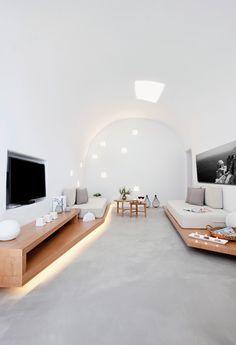 ''Villa Anemolia'' in Megalochori, #Santorini #Greece