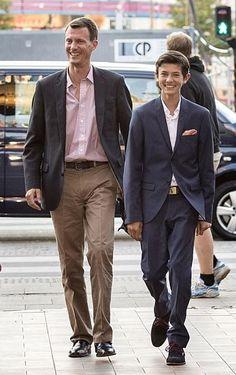 Princes Joachim and Nikolai Denmark Royal Family, Danish Royal Family, Alexandra Manley, Princess Alexandra Of Denmark, Danish Prince, Prince Felix, Royal Families Of Europe, Danish Royalty, Boy Models