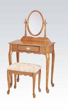 Bedroom set ireland white by acme furniture ac25350set vanity sets