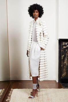 Adam Lippes Spring 2015 Ready-to-Wear  Inspiration: North African carpets from the turn of the 20th century.
