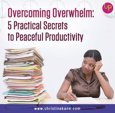 Overwhelm is one of the most common challenges for entrepreneurs. No surprise, of course. Business owners and entrepreneurs tend to have one thing in common: They're creative types with lots of great ideas and a deep desire to be of service in the world. (If you're reading this, you're probably that kind of person, too.) …