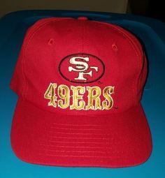 135a88d906e3a4 Rare Vintage NFL San Francisco 49ers Eastport Snapback Hat Cap