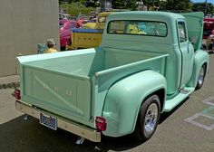 1956 Ford F-100 -- 1020658LR by Lance & Cromwell, via Flickr