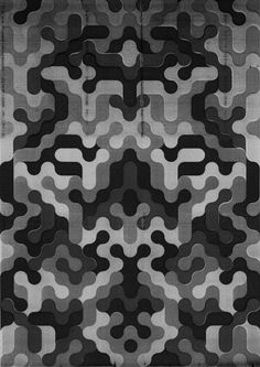 weandthecolor:    Poster Design  A collection of black and white prints by London-based graphic artist Jack Featherstone. The posters are characterized by graphic shapes and pattern.  via: WE AND THE COLORFacebook//Twitter//Google+//Pinterest