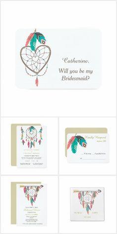 Dreamcatcher Feather Wedding