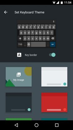 Android Mauritius: Android Keyboard updated with new color palette and more.