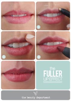 Tips for Lining Your Lips Like a Pro - A Voluminous Lip Illusion- Easy Tutorials and Awesome Hacks For Lip Liners - Kylie Jenner Tutorials and Black Women Tips - Thin Contouring Tutorials and Hacks for Eye Brows - Natural Shape Eyes - Simple Tricks for How to Apply Pencil Liners and Eyeshadows - thegoddess.com/tips-lining-your-lips