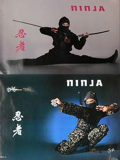 I may not be able to do the splits but I can beat them. I think? Ninja Art, I Ninja, Teenage Mutant Ninja Turtles, Ninja Japan, Samurai, How To Do Splits, Black Shadow, Ninja Warrior, Super Secret