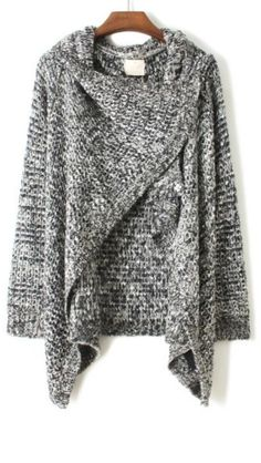Drape cardigan For whatever reason I am loving this!