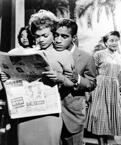 Classic Beauty Eartha Kit & Sammy Davis ~DiaryOfaManeAddict)i(