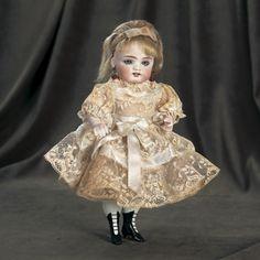 Cherries Jubilee : 180 German All-Bisque Doll Attributed to Kestner