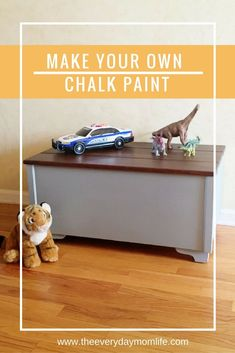 Make your own chalk