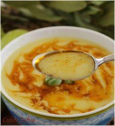 Pumpkin Soup with Yogurt- Yoğurtlu Kabak Çorbası Light and tasty summer soup. Pumpkin Yogurt, Pumpkin Soup, Casserole Recipes, Crockpot Recipes, Soup Recipes, Easy Healthy Recipes, Easy Meals, White Bean Kale Soup, Turkish Recipes