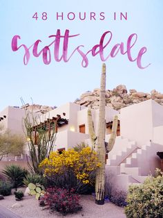 A 48 hour guide on where to eat, drink, and play in Scottsdale, Arizona!