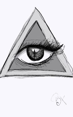 #illuminati #drawing #eyeball #sketch | Art | Pinterest ...