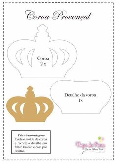 Crown Template, Butterfly Template, Heart Template, Flower Template, Owl Templates, Applique Templates, Applique Patterns, Butterfly Mobile, Mickey Y Minnie