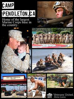Camp Pendleton is home of the largest Marine Corps base in the country and serves as the prime amphibious training base for Assault Craft Unit 5. Amphibious and sea-to-shore training takes place at several key points along the base's 17 miles of coastline. Did your service member train at Camp Pendleton? Were you stationed here? Tell us about it!