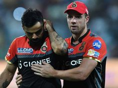 Cricket News: Defending KKR's fast bowling trio of Nathan Coulter-Nile, Chris Woakes and Colin de Grandhomme bowled out RCB for the lowest ever total in IP Ipl 2017, Virat Kohli Wallpapers, Ab De Villiers, Best Duos, In Vivo, Cricket News, T20 Cricket, Best Couple, Hd Photos