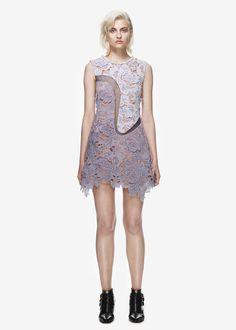 collection : tonal violette dress