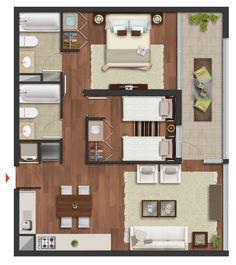 Edificio Vive - Departamentos en venta. El ambiente que necesitas vivir